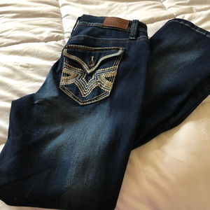 Hydraulic Junior's Sized 11 Bootcut Jeans